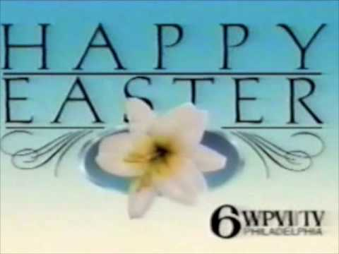 WPVI TV Channel 6 (Philadelphia PA) Station ID - Easter 1988