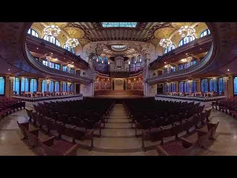 The Palau de la Música Catalana in 360º - Spain