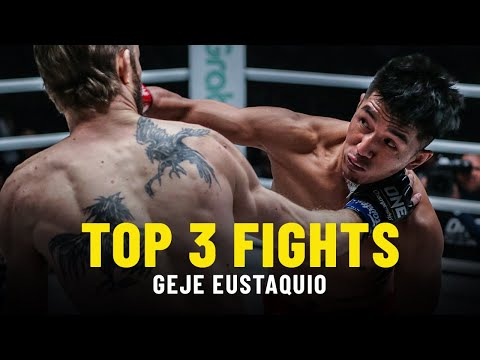 Geje Eustaquio's Top 3 Fights