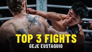 Geje Eustaquio's Top 3 Fights