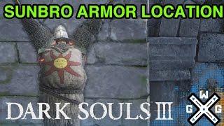 Armor of the Sun Location - Dark Souls 3 (Knight Solaire of Astora's Armor)