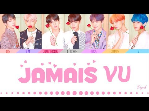 BTS (방탄소년단) - 'JAMAIS VU' (Color Coded Lyrics Eng/Rom/Han/가사)(HOW WOULD 7 MEMBERS)