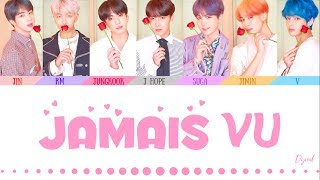 Gambar cover BTS (방탄소년단) - 'JAMAIS VU' (Color Coded Lyrics Eng/Rom/Han/가사)(HOW WOULD 7 MEMBERS)