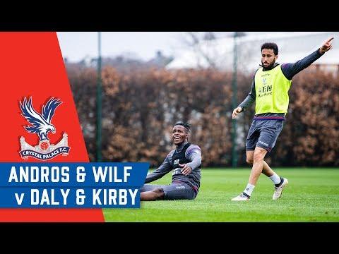 YOUNG GUNS V SENIOR STARS: Wilf/Andros v Daly/Kirby