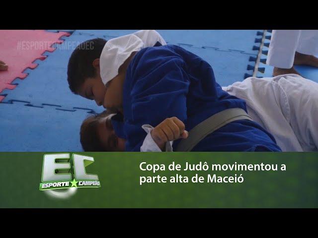 Copa de Judô movimentou a parte alta de Maceió