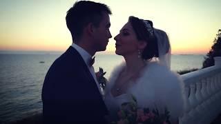 А&Д свадьба на море.