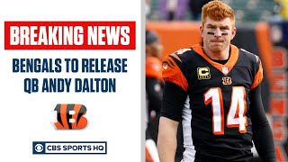 Bengals to Release Andy Dalton   CBS Sports HQ
