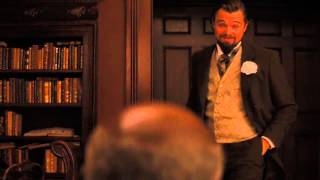 Django Unchained Best Scenes - Calvin Candie Gets Owned By Django, Dr. King Shultz and even Stephen