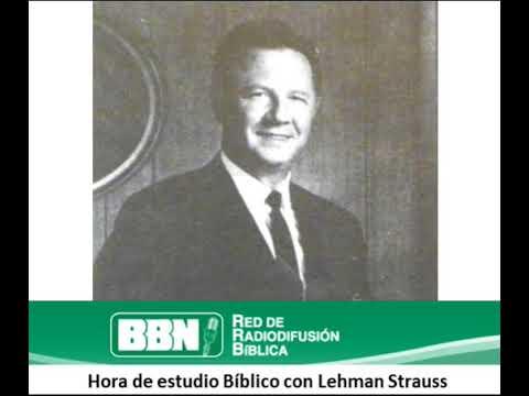 Estudio Biblico con Lehman Strauss 2 Las fiestas de Dios