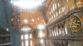 Музей Айя-София (Софийский собор в Стамбуле)(Айя-София - бывший патриарший православный собор, впоследствии — мечеть, ныне — музей. На видео представле..., 2014-07-08T14:13:28.000Z)