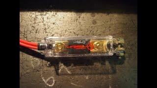 Установка мощного предохранителя 150 ампер на аккумулятор