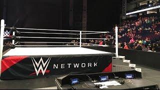Brandon Hodge At WWE RAW 2/29/16 Nashville, TN ROW 2