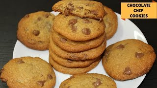 Soft & Chewy Chocolate Chip Cookies | Homemade Chocolate Chip Cookies- Chocolate Chip Cookies Recipe