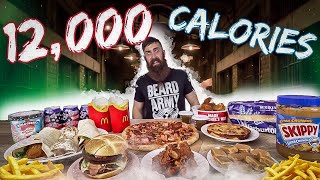 THE 12,000 CALORIE DEATH ROW MEAL TO END THEM ALL | FINAL MEAL CHALLENGE | BeardMeatsFood