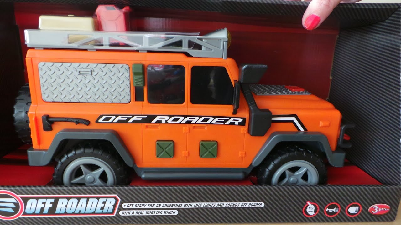 Dickie Toys For Tesco Land Rover Off Roader Car With Lights And Sounds Youtube