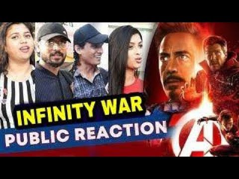 Avengers infinity war honest Public Reaction,Avengers infinity war reaction in India,Avengers