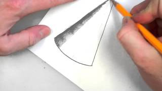 cone  drawing and shading