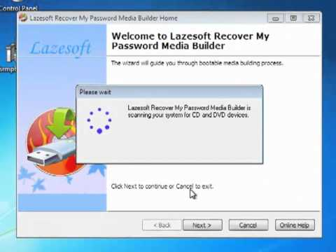Windows 7 Password Recovery Freeware Lazesoft