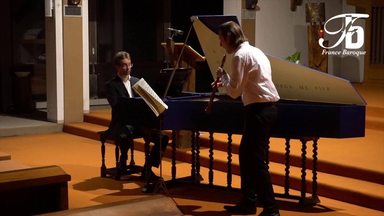 Couperin, septième Concert Royal, Fuguète. Concert A l'Abbaye de la Rochette.