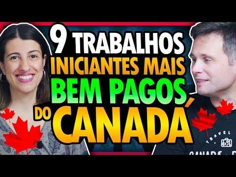9 TRABALHOS PARA INICIANTES EM DEMANDA MAIS BEM PAGOS NO CANADÁ (COM OS SALÁRIOS)