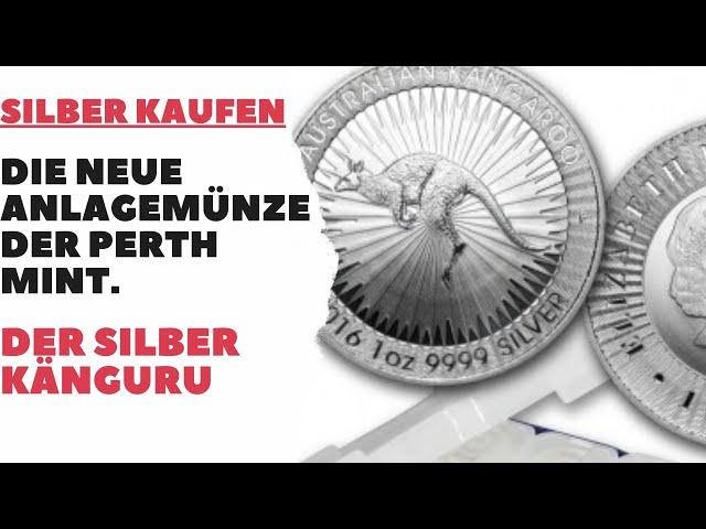 Silber kaufen - Die neue Anlagemünze der Perth Mint - der Silber Känguru - Silber Nugget