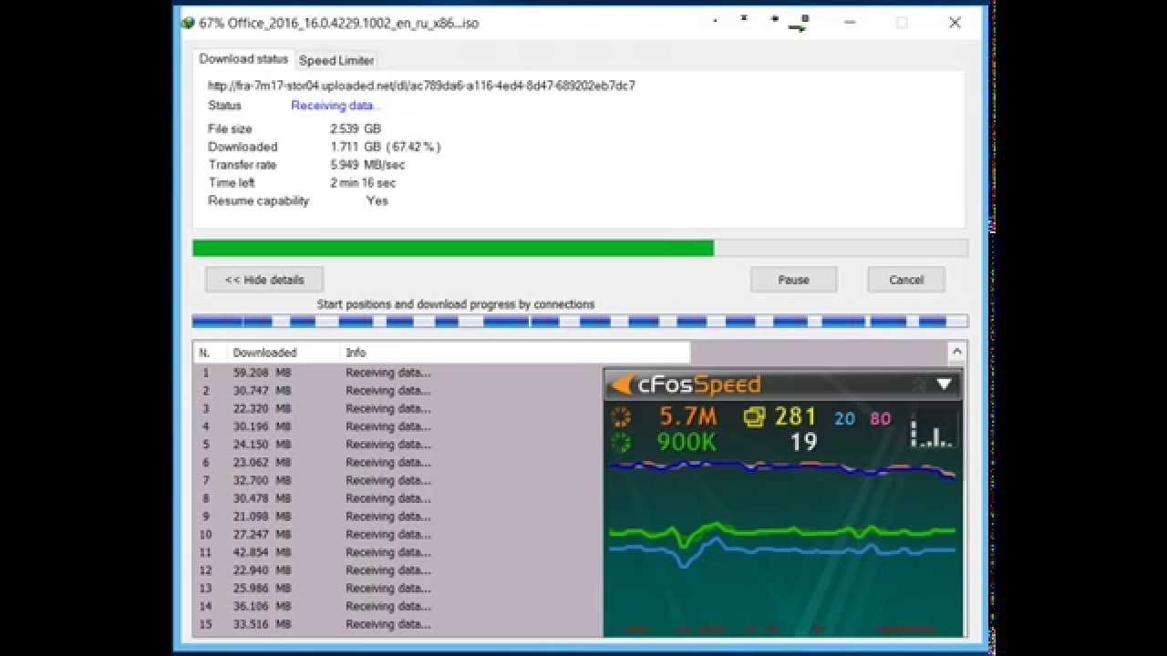 Test Download 1 Gb