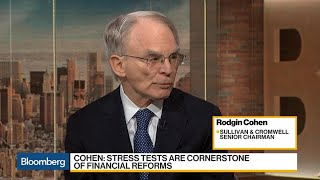 Rodgin Cohen Says New Volcker Rule Won