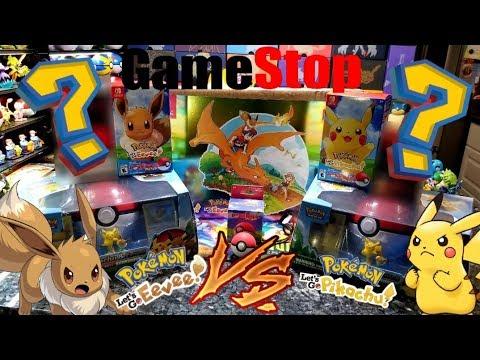 Gamestop Sent Us A New Nintendo Switch Lets Go Pikachu