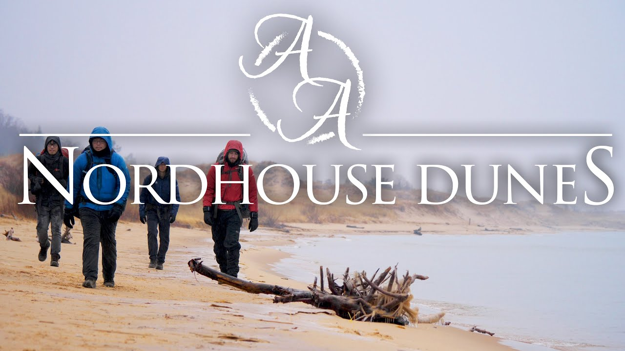 Nordhouse Dunes in 4K | Winter Camping, Hiking, and ...