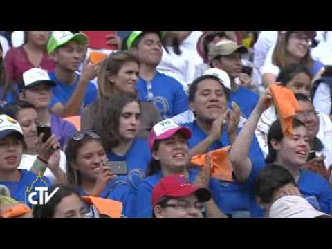 【YouTube】教宗会晤墨西哥青年:耶稣基督是一切的根基