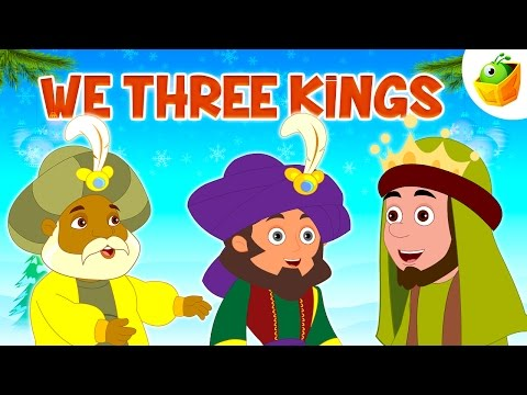 We Three Kings ♫🔔❄Popular Christmas Songs♫🔔❄ Christmas Children Carols ♫🔔❄ By Magicbox Animations