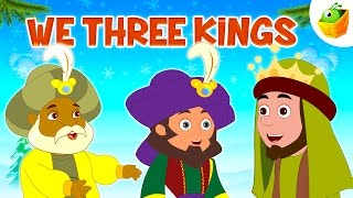 We Three Kings ♫❄Popular Christmas Songs♫❄ Christmas Children Carols ♫❄ By Magicbox Animations