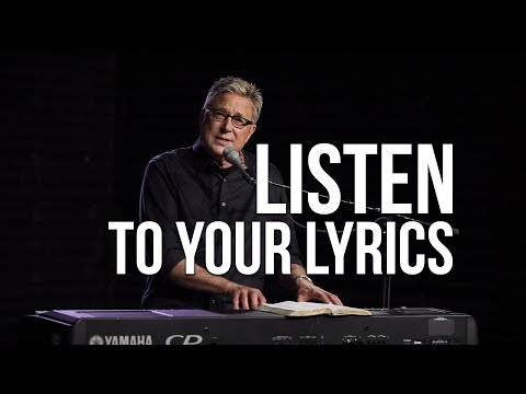 Listen to Your Lyrics | Songwriting Workshop