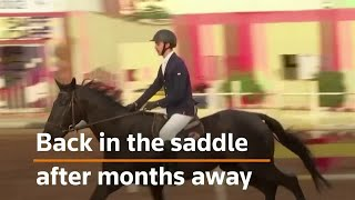 Back in the saddle after lockdown for Gaza riders