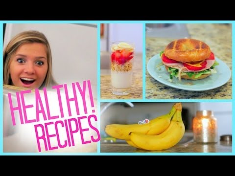 Healthy Food Ideas! Breakfast Lunch and Snacks | Fitness | MyLifeAsEva