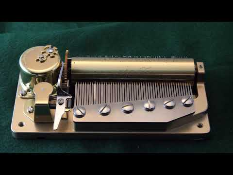 Sankyo Orpheus 50 Note Music Box Movement