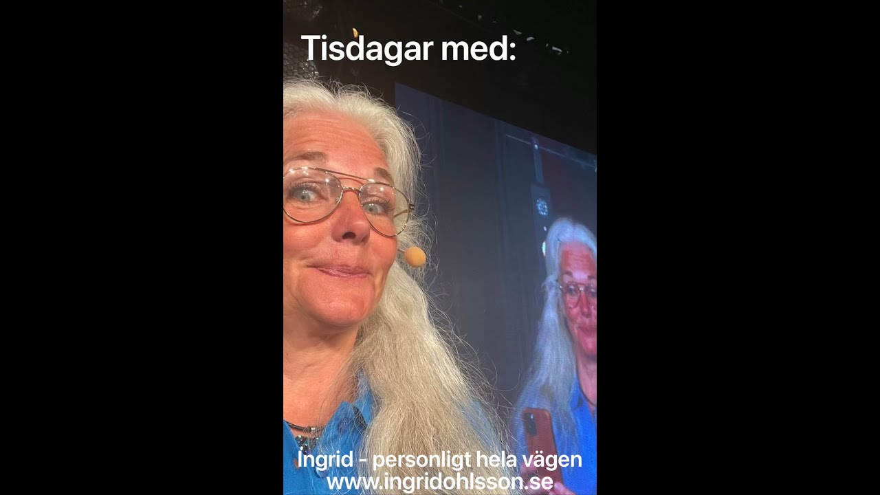 Nu är Ingrid i sitt esse i ÅRETS  sommarturné!