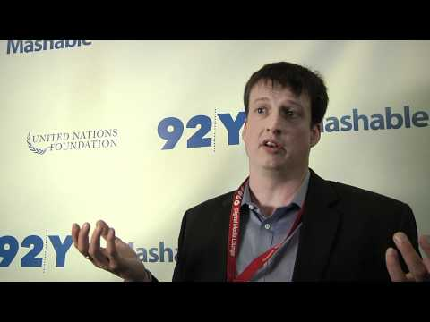 Achieving the MDGs: Robert Kirkpatrick from the UN Global Pulse Initiative