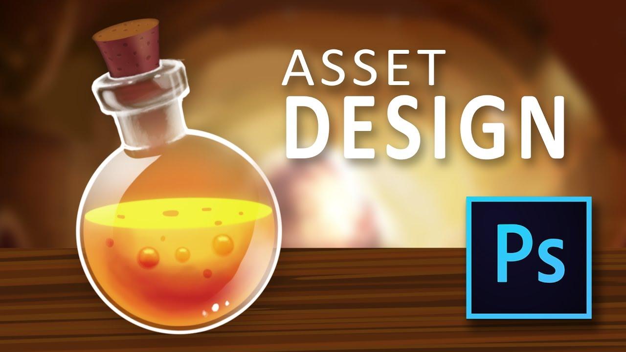 Photoshop tutorial – health bar 2d game design – en youtube.