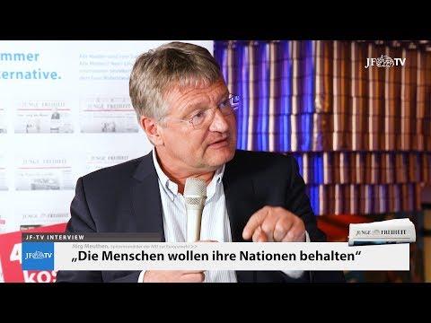 """""""Die Menschen wollen ihre Nationalstaaten behalten"""" (JF-TV Interview mit Jörg Meuthen)"""