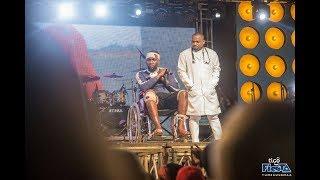 """Roma Akumbushia Alivyotekwa Tigo Fiesta Classic Mbeya, Apandishwa Jukwaani kwa """"Wheelchair"""""""