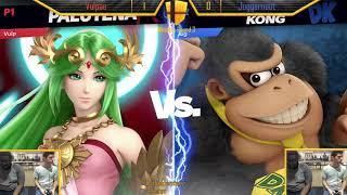 Vulpae (Palutena) VS Juggernaut (Donkey Kong) WR3 Smash Knights Ultimate Singles #6