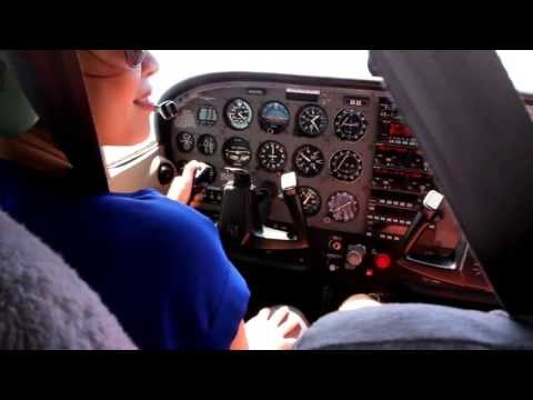 Flying lesson - Justice Airport to Malibu & back