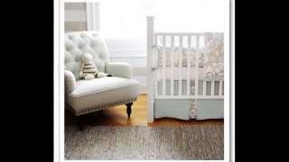 Bedding - New Arrivals Ragamuffin Pink 3 Piece Crib Bedding Set, Grey