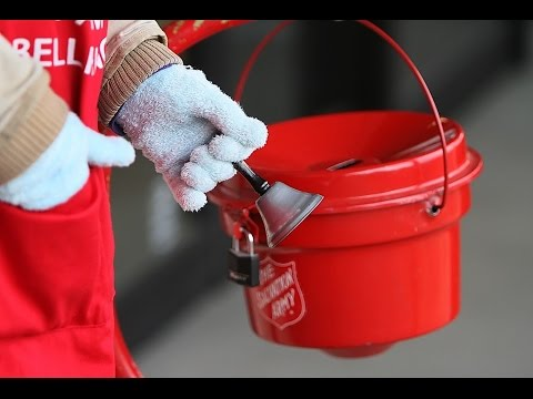 Image result for bell ringing salvation army