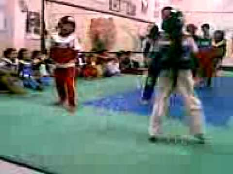 Taytay Tkd Sparring Practice Part 1