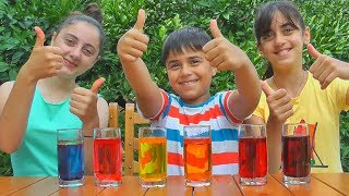 Easy Experiments for Kids and Learn Colors from Guka Family Show