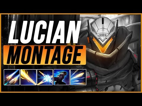 Lucian Montage 3 - Best Lucian Plays pre-season 9 - League of Legends thumbnail