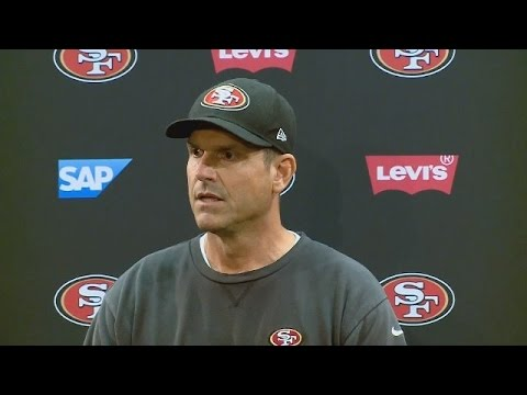 Raw Video: 49ers Coach Jim Harbaugh Spars With Reporters On Ray McDonald Issue