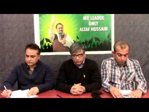Video Briefing of Coordination Committee of MQM held on 30 November 2017